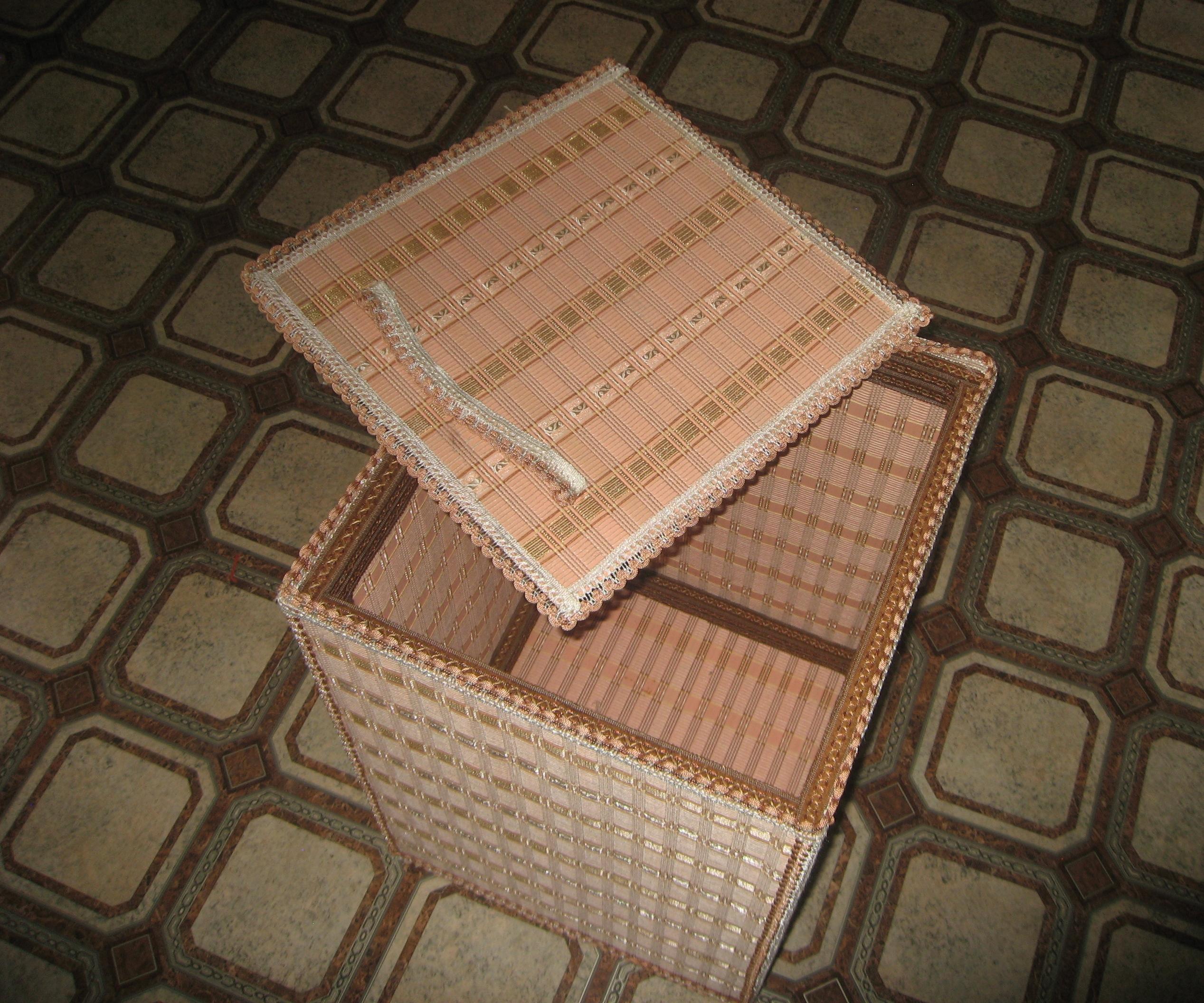 Шкатулки из бамбуковых салфеток Страна Мастеров 68