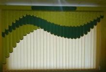 Вертикальные жалюзи с ламбрекеном
